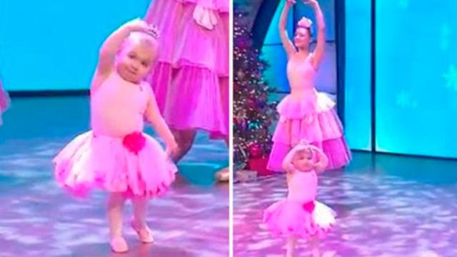 Watching the Tiny Girl Dancing Ballet People Can Only Say Too Lovely and Wonderful