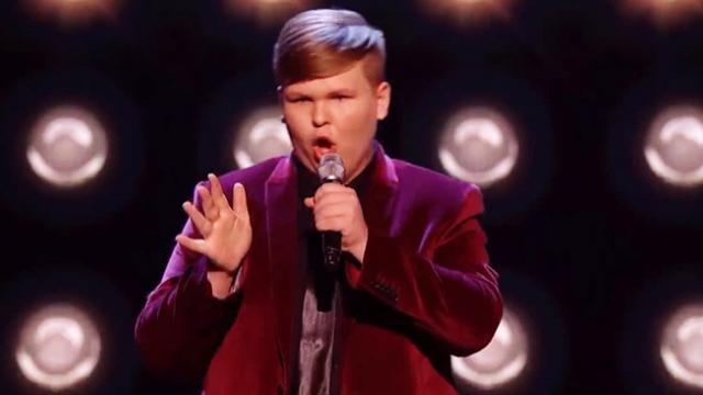 Young boy SHOCKS The Voice Kids coaches