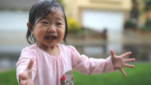 What Do You Get When You Mix a Child's Wonder With a Rainy Day- the Most Adorable Two Minutes of You