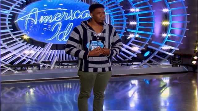 """Young Father's Moving Story Inspires """"American Idol"""" Judges In Emotional Audition."""