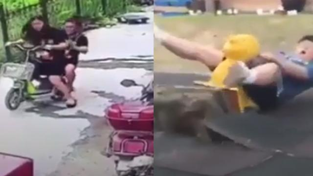 Ridiculous moments of fat people will definitely bright up your day - Check out this video