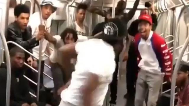 Watching These Dancers Bust Some Moves On The NY Subway Just Made My Day