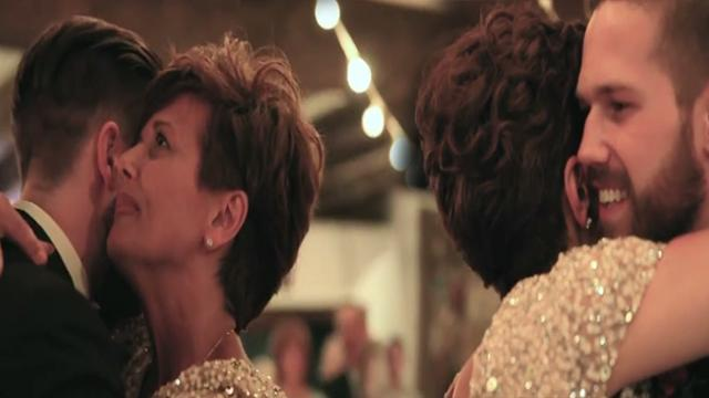 Mom With MS Shares Heartwarming Dance With Son At Wedding