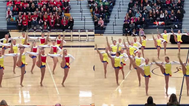 Minnesota Dance Team's Performance Is Equal Parts Dancing And Magic.
