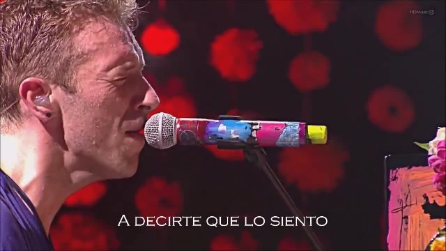 "Coldplay en una hermosa interpretación de ""The Scientist"" en su gira por Perú 2016"
