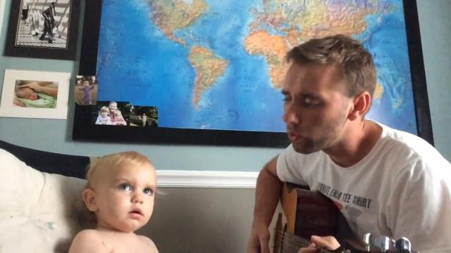 Check Out This Adorable Baby And Daddy Duet