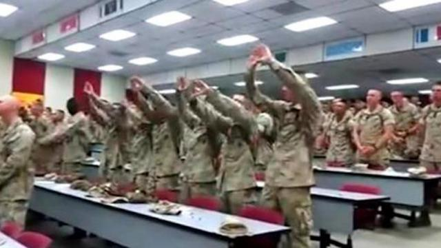 Americas Marines Singing -Days of Elijah-