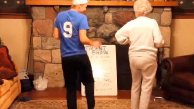 Grandma Joins Granddaughters Dance Only To Spin Around And Steal The Show