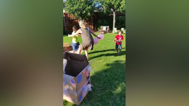Mom Of 3 Boys Has Hilariously Epic Reaction To Baby Girl Gender Reveal.