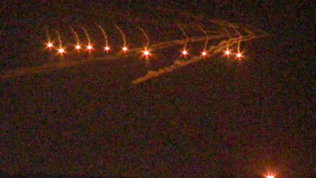 -Mysterious Lights- Hovering Over San Diego Freak Out Social Media Users