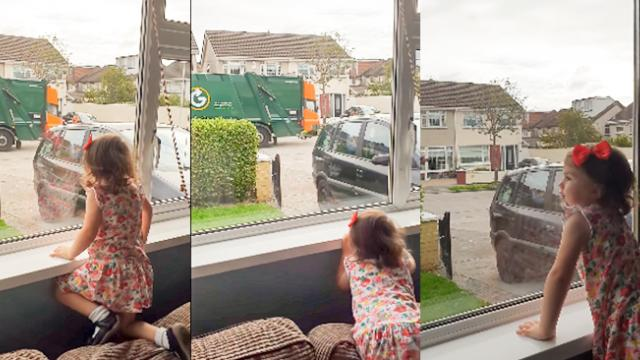Garbage Men Delight 'Their Biggest Fan' With A Surprise Present -
