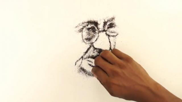 Incredible talent- Indian artist is creating amazing artwork using human hair
