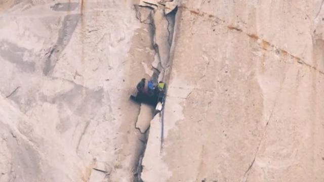 Stunning timelapse footage makes climbers look like ants as they smash El Capitan climb speed record