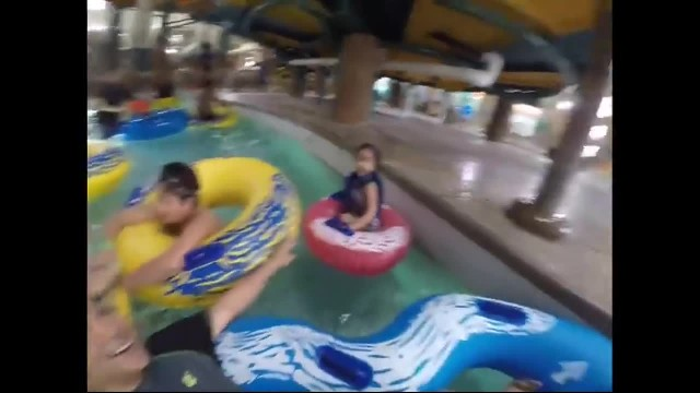 Adorable Tot Gets Plummeted In Lazy River