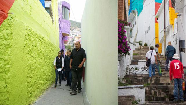 Mexican Government Unites Local Community By Asking Street Artists To Paint Over 200 Houses