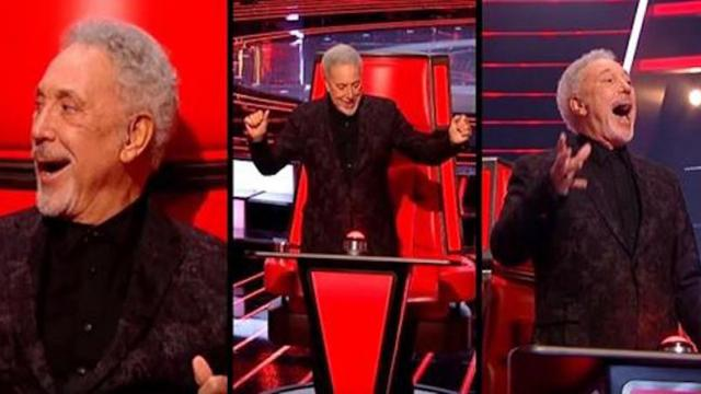 Tom Jones Performs Its Not Unusual Blind Auditions The Voice