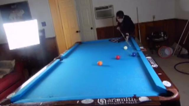 Play your shot 14-year-old shows off amazing pool tricks to beat