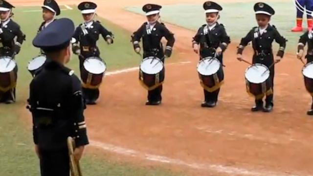 Cutest Drumline Performance Youve Ever Seen