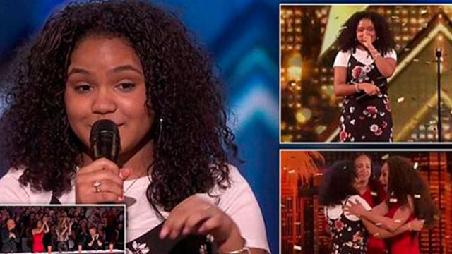 Amazing 15-year-old singer earns Golden Buzzer on America's Got Talent