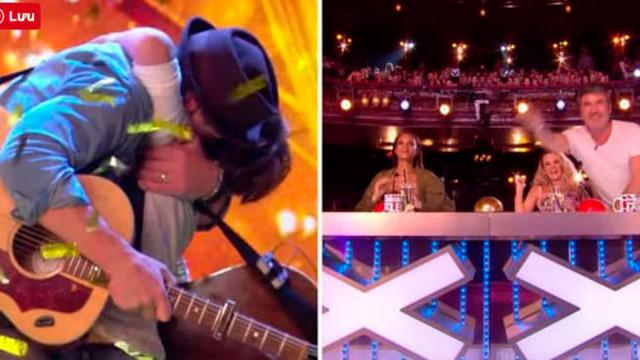 Simon Hits Golden Buzzer After Audience Is Left Weeping By Father And Sons Beautiful Song