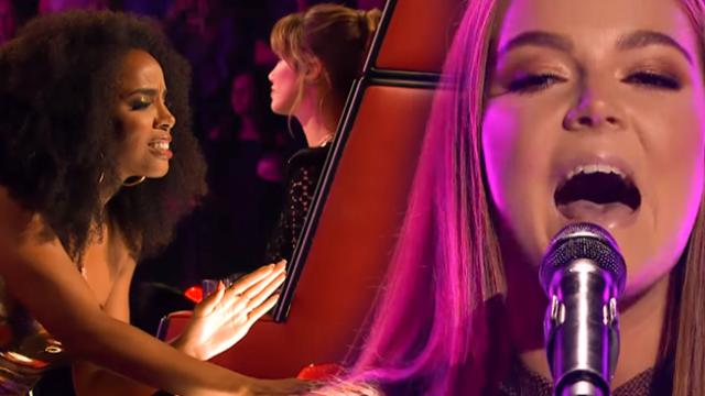 Blind Audition- Sally Skelton sings Wolves - The Voice Australia 2018 - YouTube