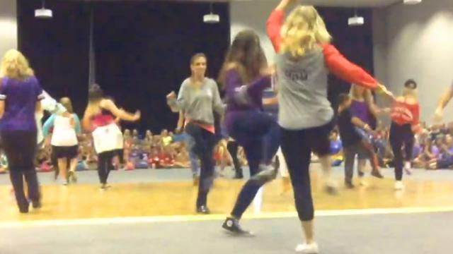 Mom KILLS IT With Hip-Hop At Dance Convention