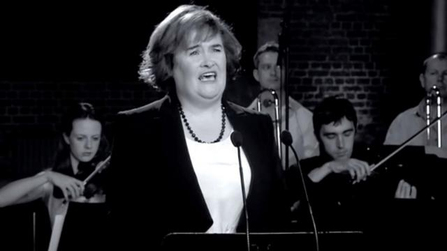 Susan Boyle interpreta el cover más bello de Unchained Melody