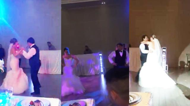 Father And Daughter Share Adorably Hilarious Wedding Dance