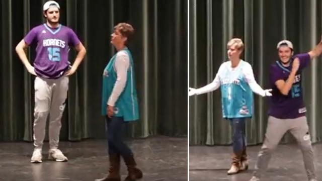 Mother and son danced to the top songs the decades  Feedy