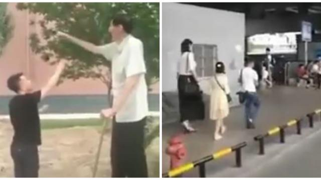 Así es la vida cotidiana de la gente gigante de China - Video