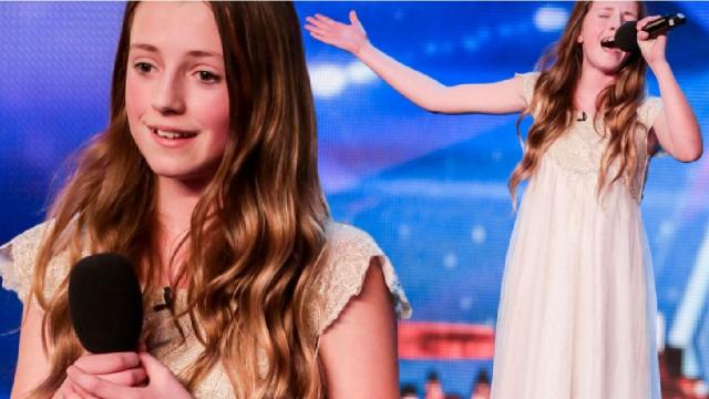 "Esta niña con aire angelical canta ""I've Got Nothing"" de Whitney Houston y enamora a todos"