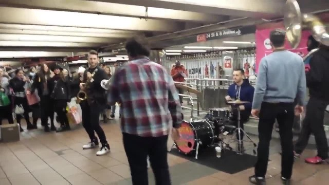 New York subway legends, Lucky Chops