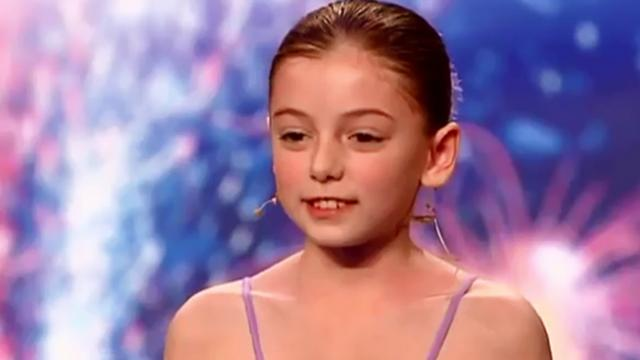 Hollie Steel, la niña que cautivó a todos con su talento en Britain's Got Talent