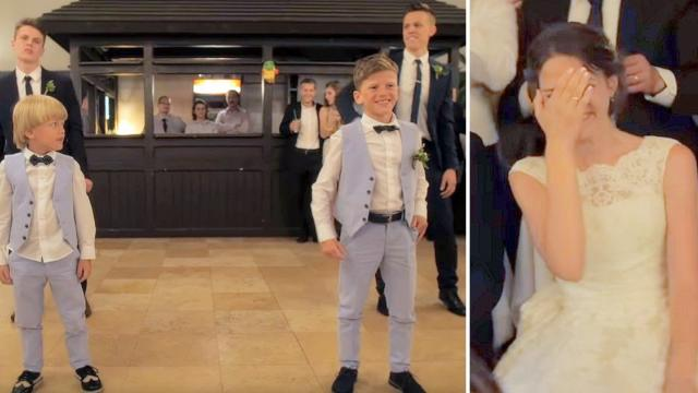 Surprise wedding dance from Brothers & Sisters
