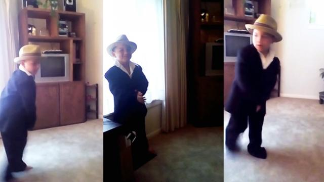 Seven-Year-Old Shows Off Flawless Michael Jackson Dance Moves
