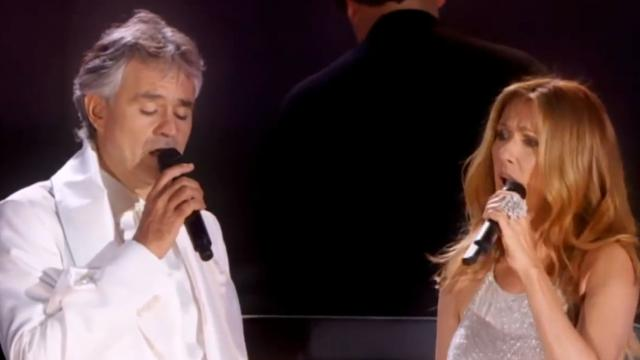 Andrea Bocelli And Celine Dion Bring The House Down As They Sing Classic Song, 'The Prayer'