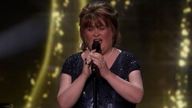 Susan Boyle Earns Golden Buzzer With Iconic -Wild Horses- -