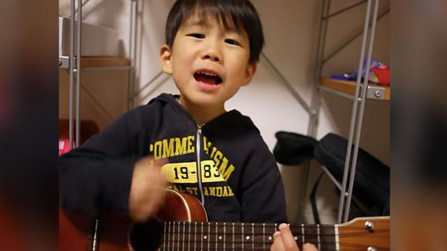"Guard Your Heart Because This 5-Yr-Old Singing ""I'm Yours"" Is About To Steal It."