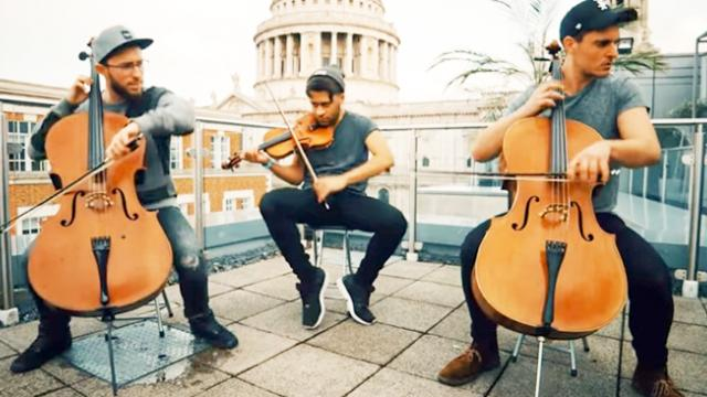 Shape of You - Ed Sheeran Violin and Cello Cover Ember Trio