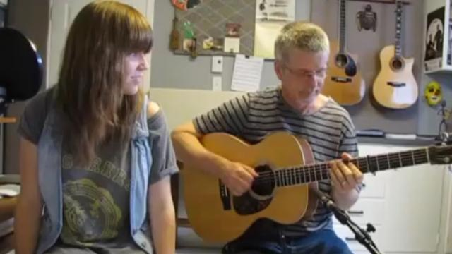 This French Father-Daughter Duo Sing A Classic Beatles Song… And Its AMAZING!
