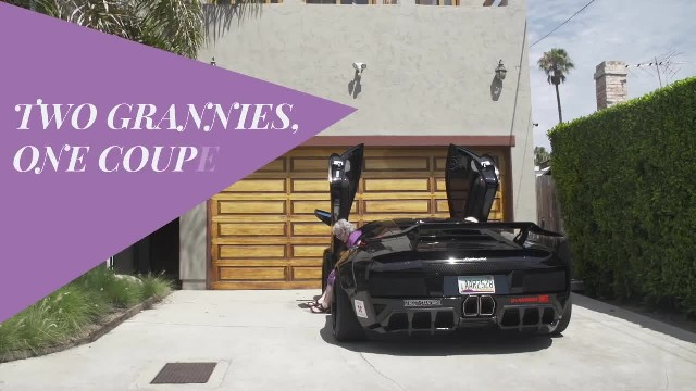 Two Grannies, One Lamborghini - Donut Media