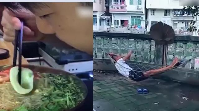 Incredible creativity of people who are lazy