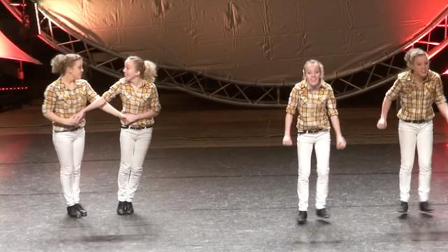 Clogging Pair Blows Away Judges With Their Incredible Moves