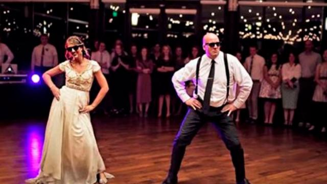 Father  Bride Electrify Crowd When Tender Dance Takes Insanely Epic Turn