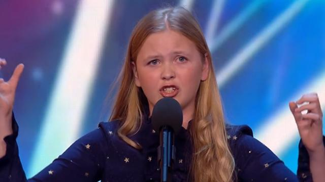 Beau Dermott is Amanda Holden's golden girl _ Week 1 Auditions _ Britain's Got T