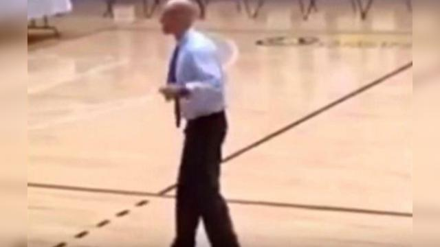 The Kids All Laughed When The Principal Said He Was Going To Dance. Then The Music Started
