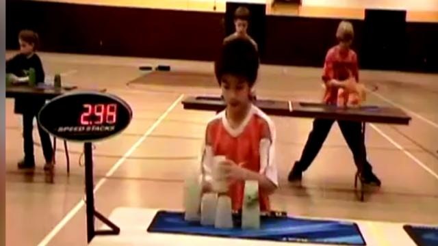 Amazing Sport Stacking Records