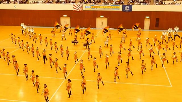 113 Japanese Girls Stand In Formation—Amaze World With Perfect Marching Band Routine.