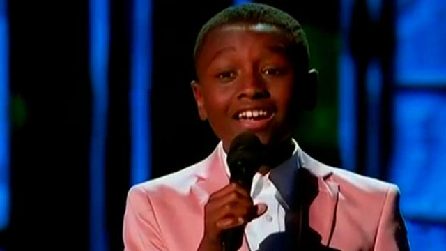 12-Year-Old Boy Sings A Powerful Worship Song