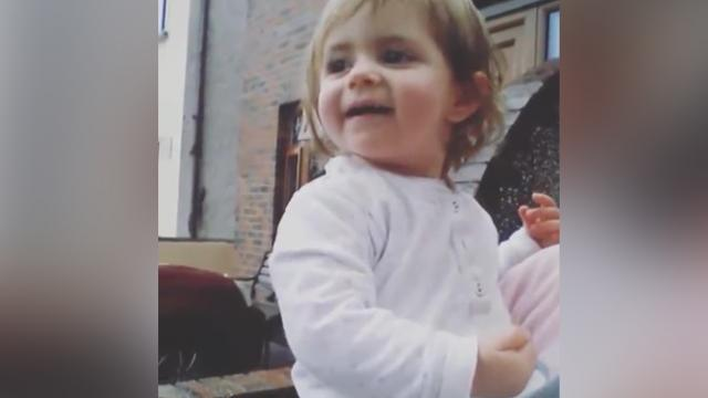 Sweet Baby Has Amazing Reaction To Her First Snow